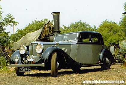 Bentley 3.5 saloon