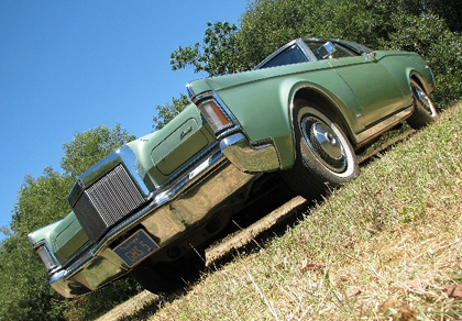 1971 Lincoln Mk III Coupe