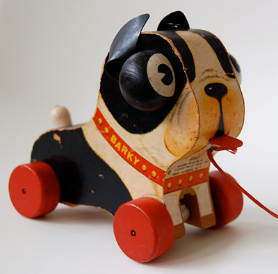 Fisher-Price Barky Pull Toy