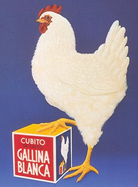 Gallina Blanca old reclame