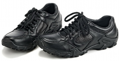 ECCO Trace Black Mens Causal Shoes