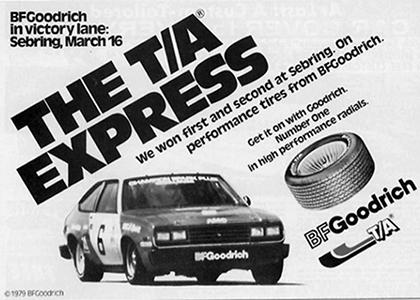 Реклама 1979 года BFGoodrich
