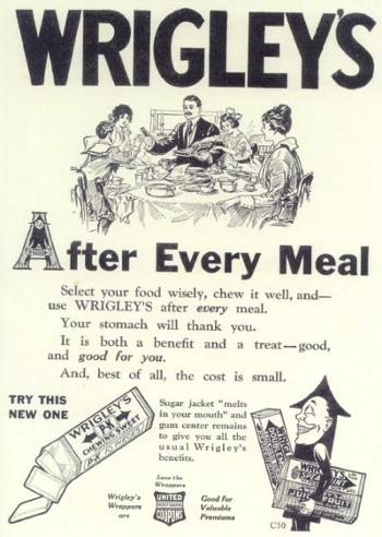 Wrigley reclame