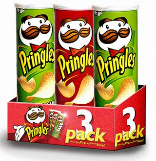 Pringles 3 pack