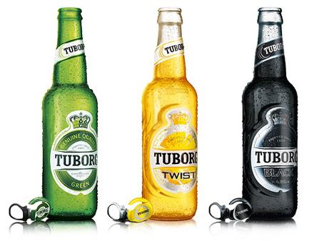 Tuborg Green Twist Black