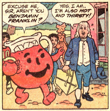 Kool-Aid Man Comics