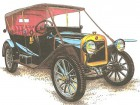 Автомобили «Руссо-Балт» и «Орёл» для президентского кортежа