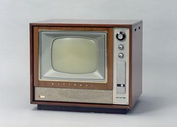 Первый цветной телевизор K21-10, 1960 год
