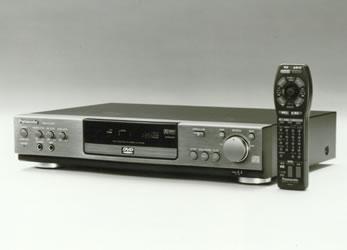 Первый DVD-плеер DVD-A300, 1996 год