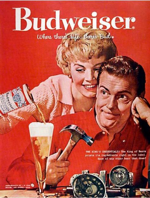 Budweiser-1958-Vintage-Ad