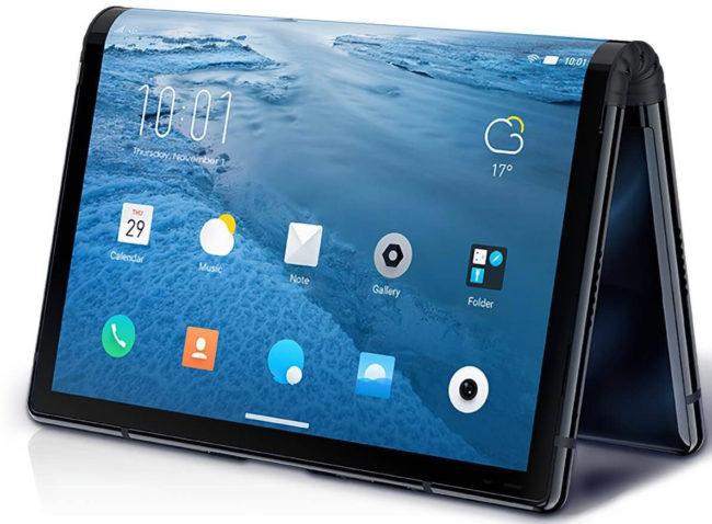Гибкие телефоны Huawei