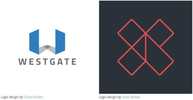 Геометрические логотипы