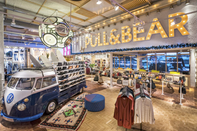 Бренд Pull & Bear выходит на рынок США