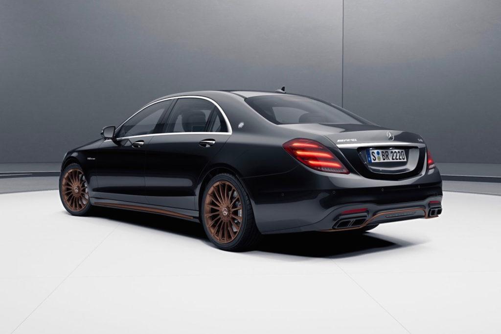 Mercedes-AMG back