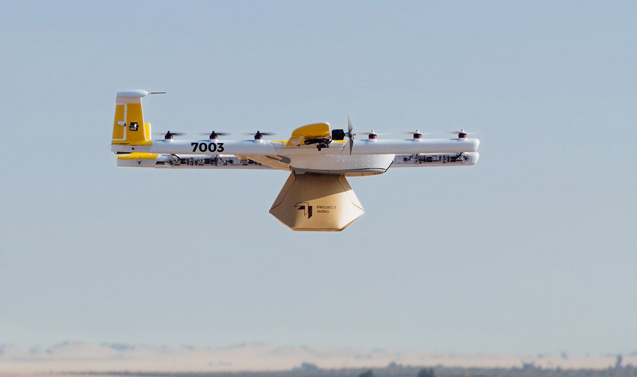 Wing доставка дронами