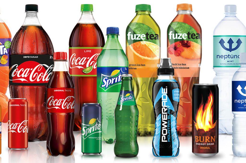 Coca Cola brands