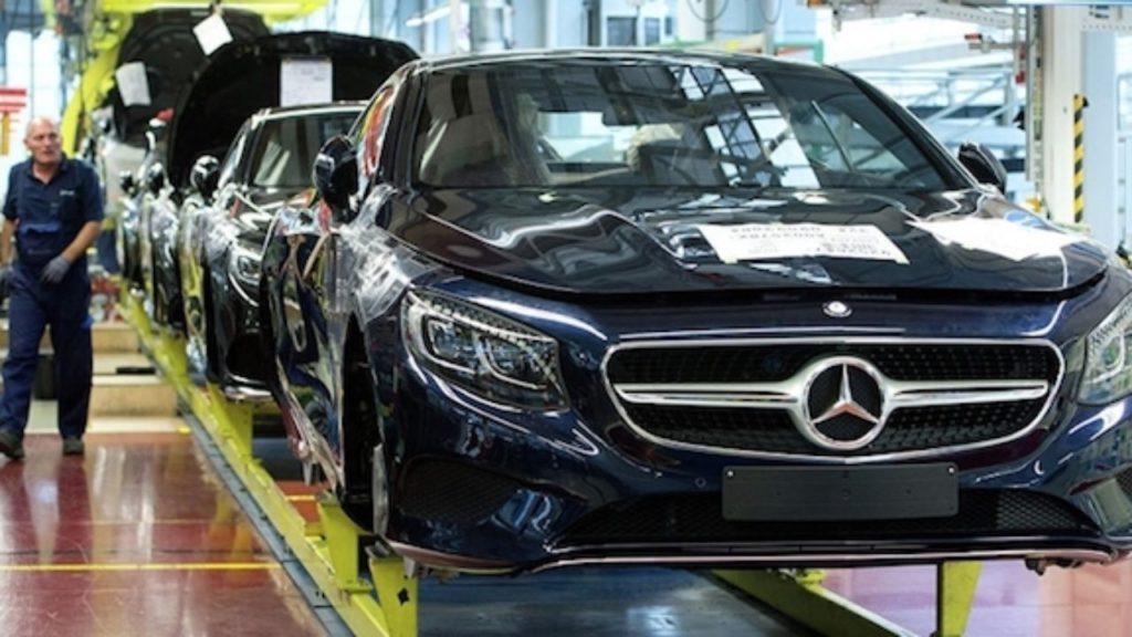 производство автомобилей Mercedes-Benz в России
