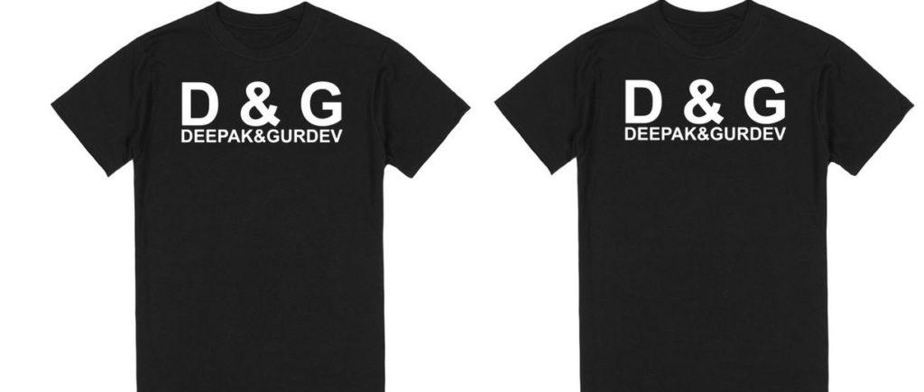D&G Top Famous T-Shirt
