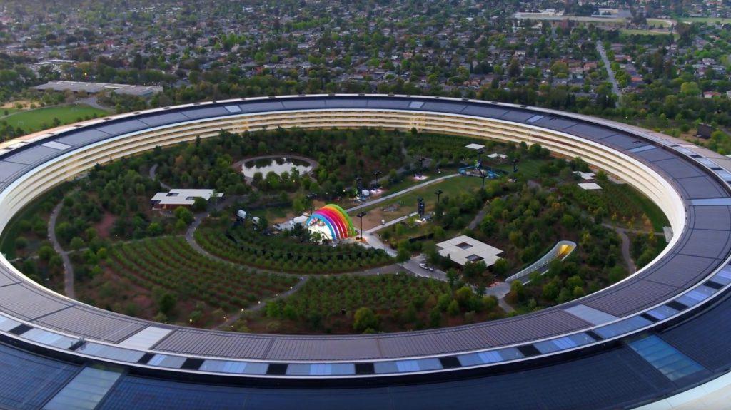 Apple Park Открытие