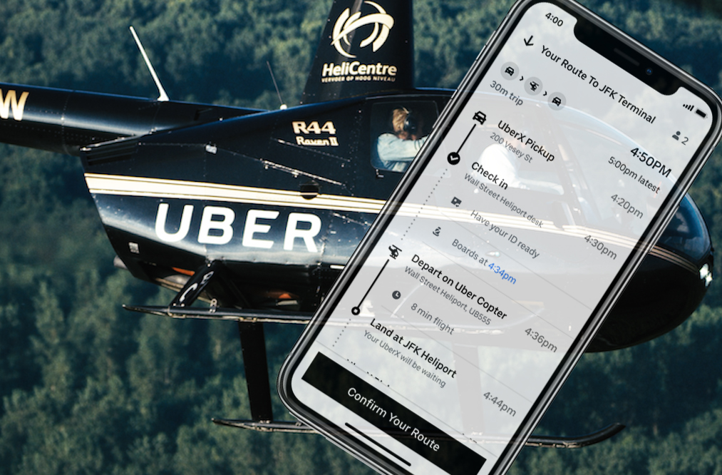 Uber Copter Rides