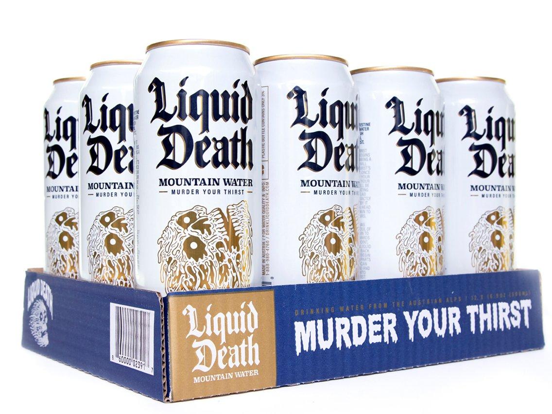 Вода Liquid Death