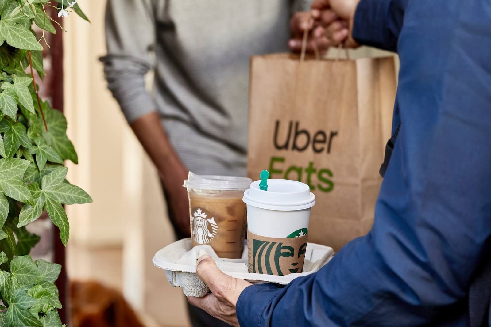 Starbucks Uber Eats