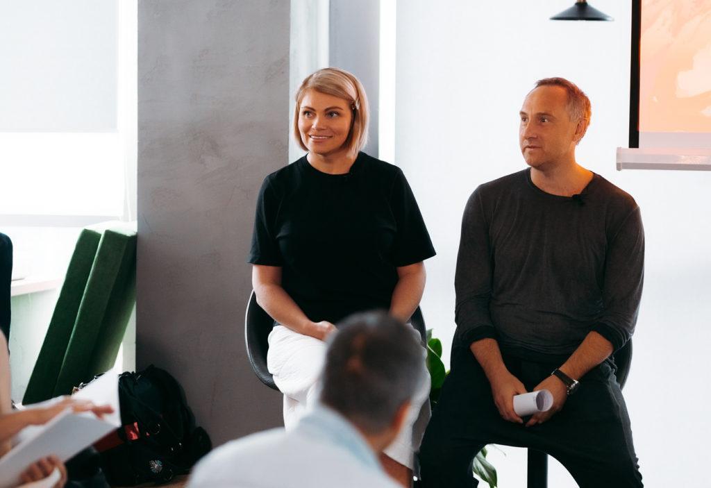 Анна Миланович и Михаил Уржумцев