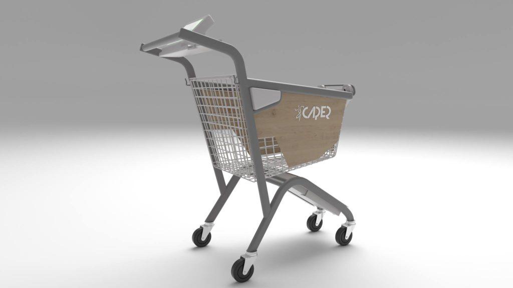Умная тележка для супермаркета