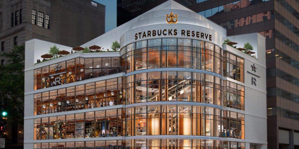 Starbucks Reserve Roastery откроется в Чикаго
