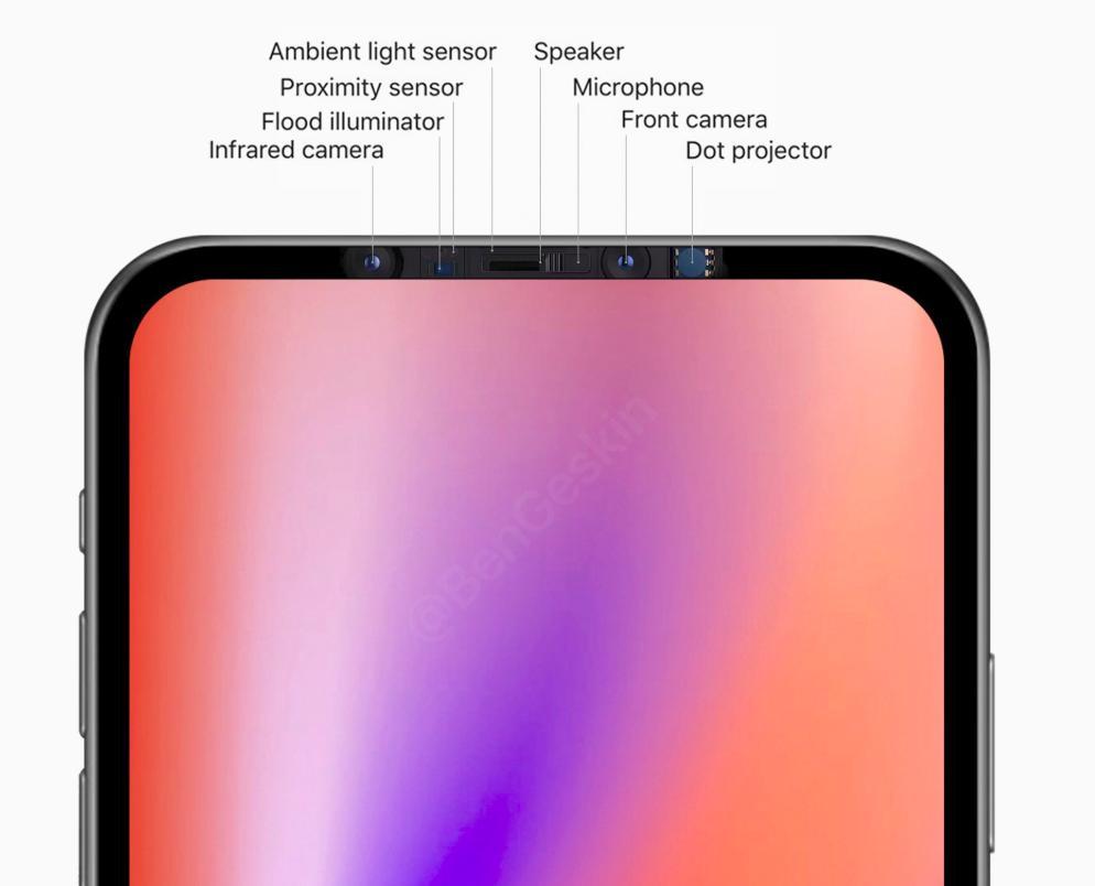 Apple 2020 iPhone 12 рендер BEN GESKIN