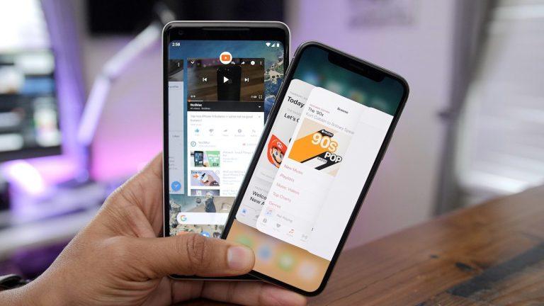 Android почти повсеместно потеснил iOS