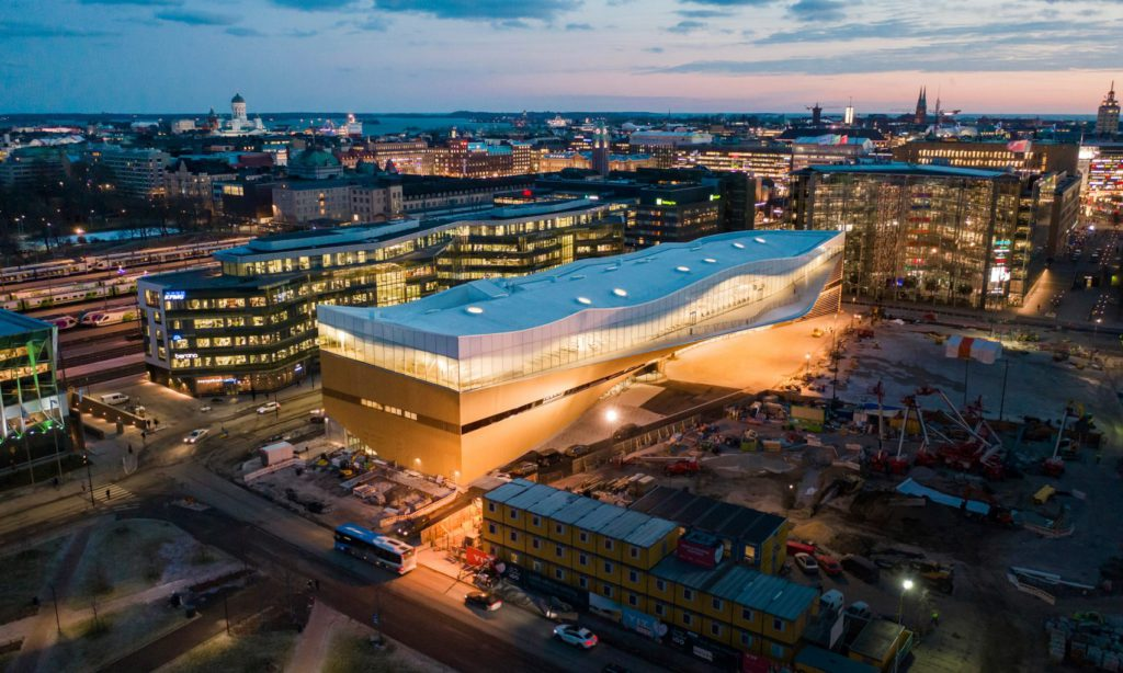 Центральная библиотека Хельсинки Oodi