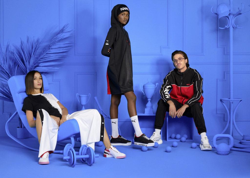 PUMA и Karl Lagerfeld представили Streetwear коллекцию