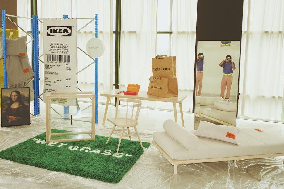Коллаборация Ikea и Virgil Abloh