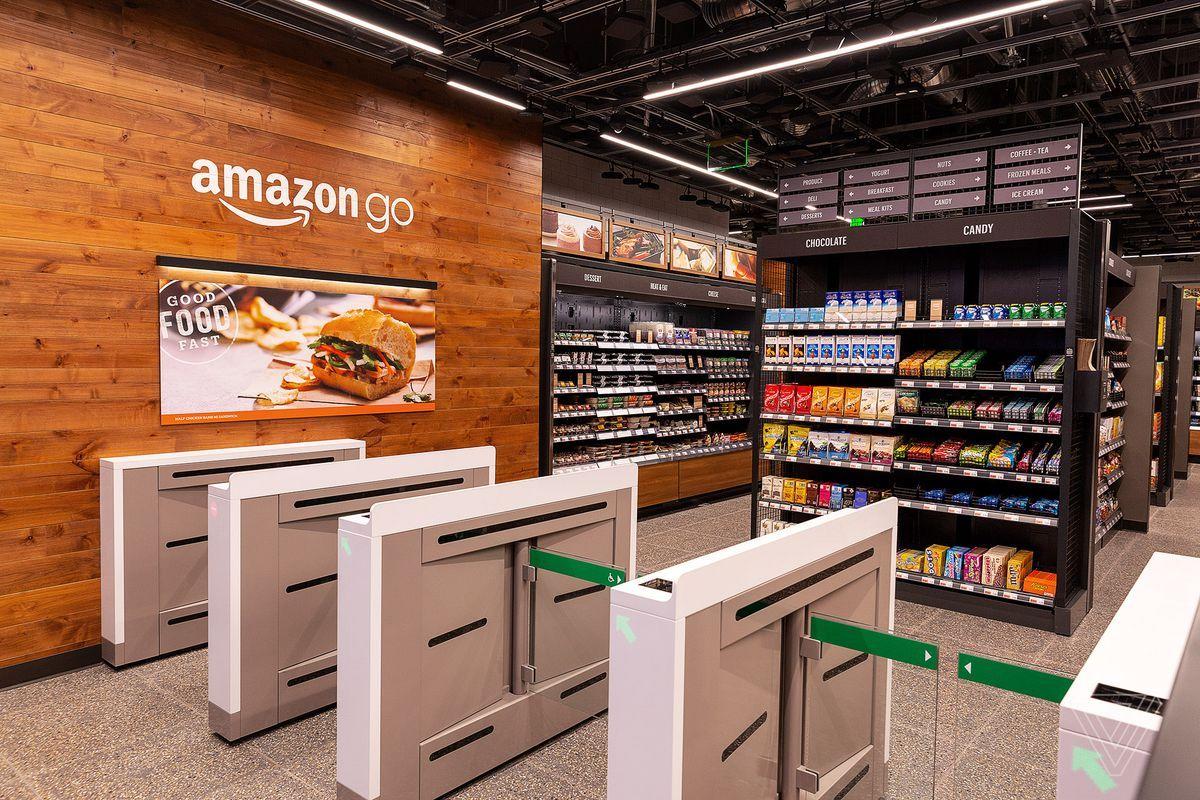 Amazon Go Photo by Nick Statt / The Verge