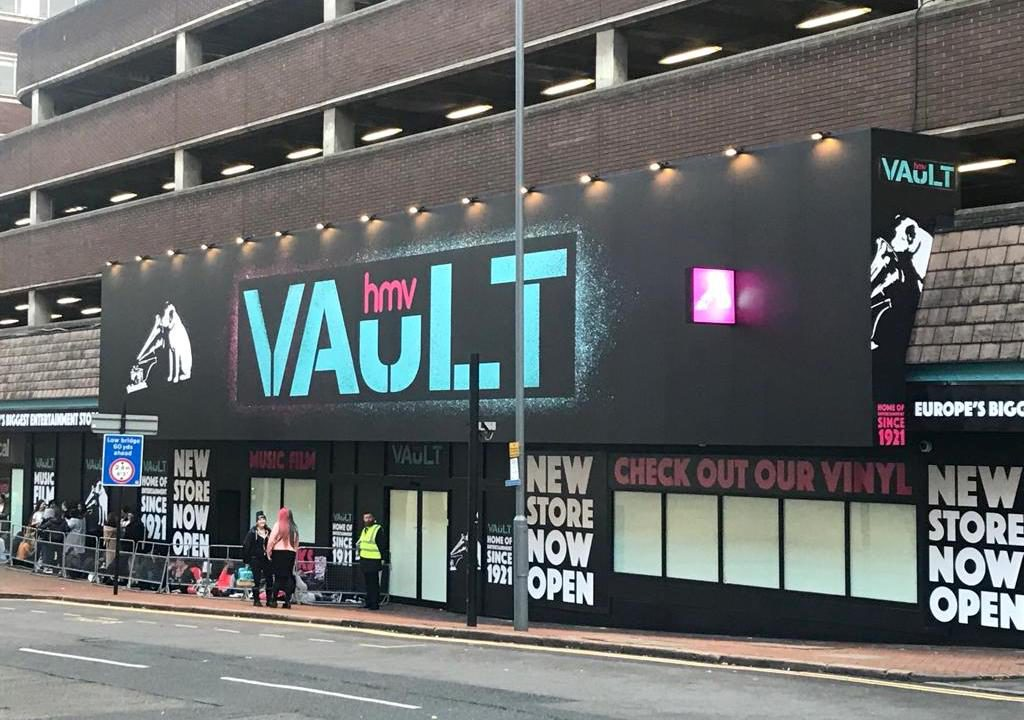 HMV откроет крупнейший в Европе музыкальный магазин