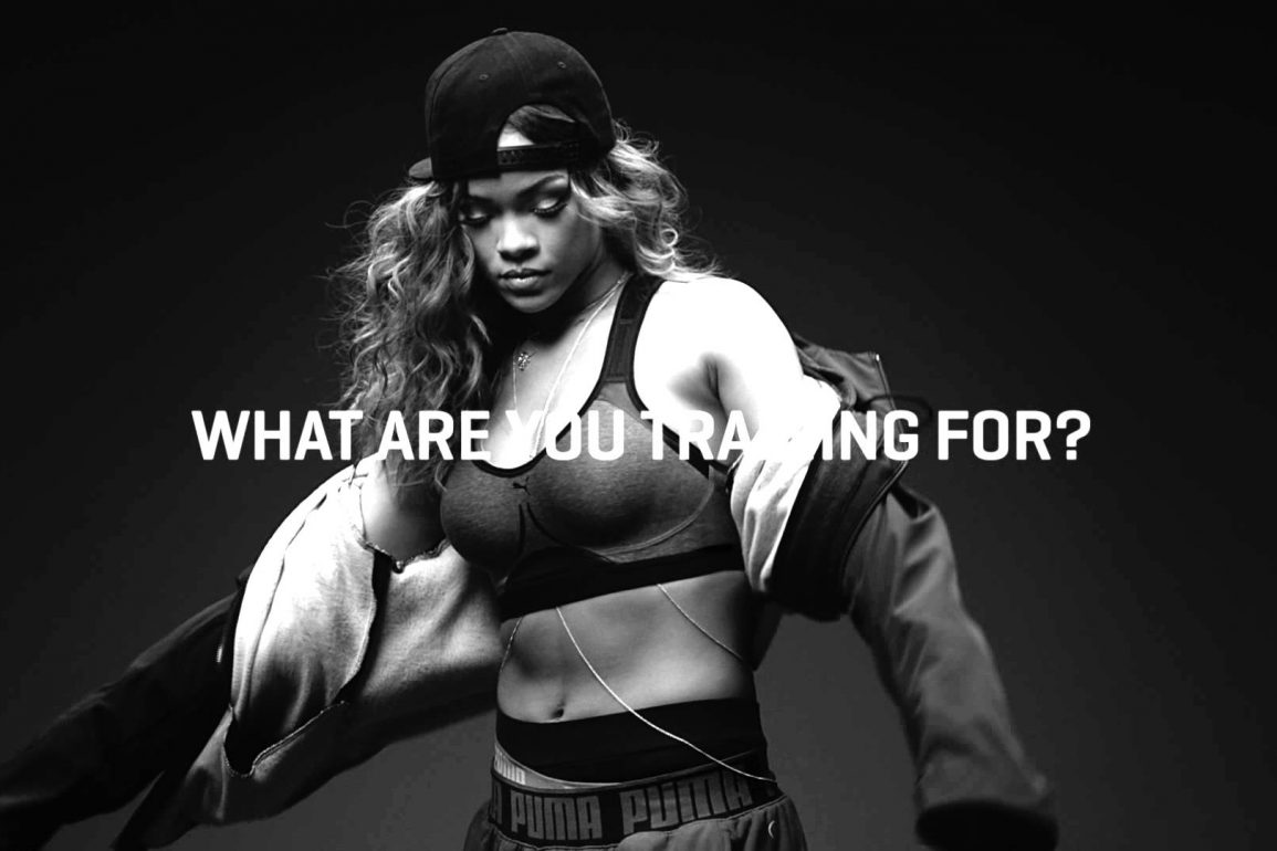 Рианна в рекламной кампании Puma