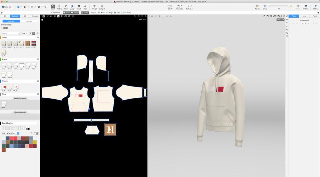 3D design Tommy Hilfiger