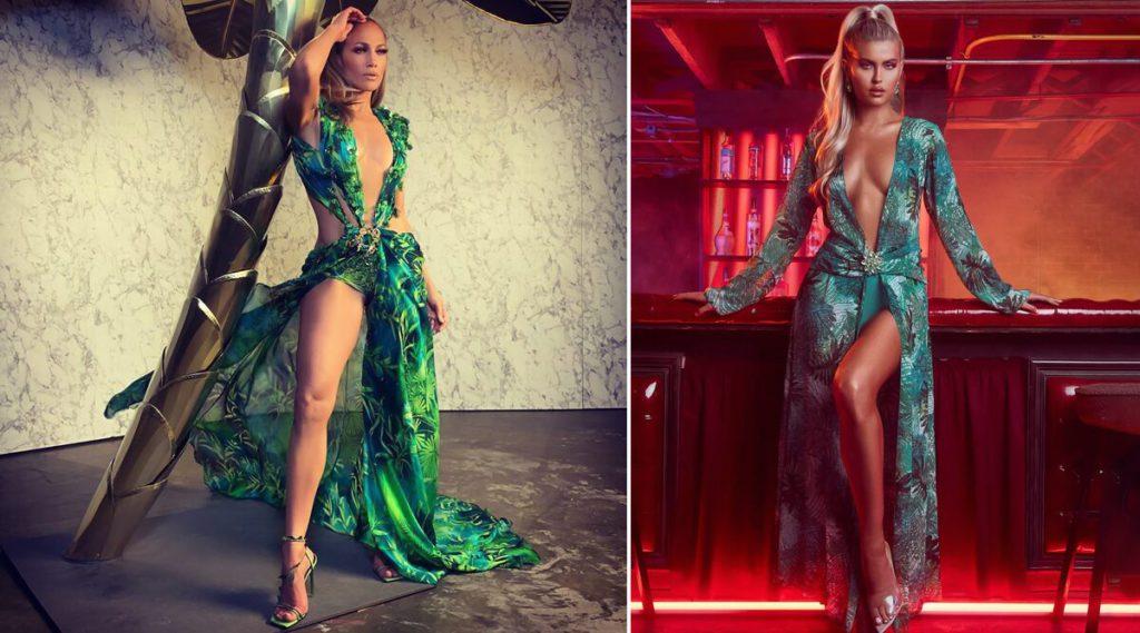 Versace подал в суд за кражу легендарного платья Дженнифер Лопес