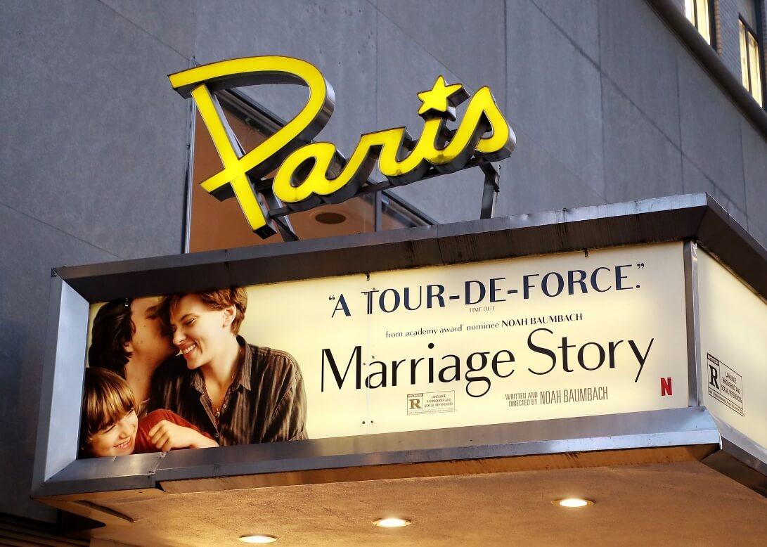 Кинотеатр Paris в Нью-Йорке