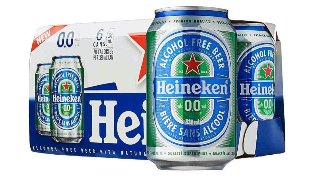 Heineken представила лимитированную упаковку пива к Dry January