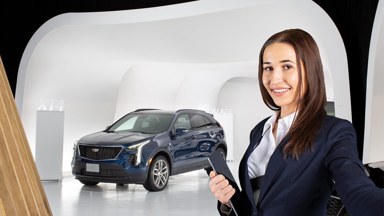 Cadillac приглашает клиентов в онлайн шоу-рум