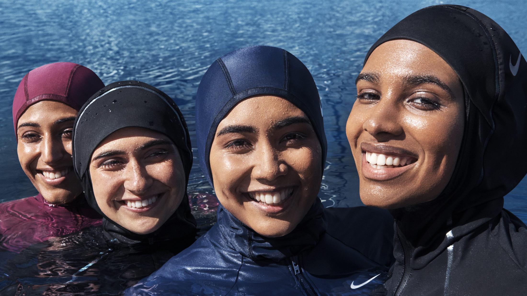 Nike представляет купальные костюмы для мусульманских женщин