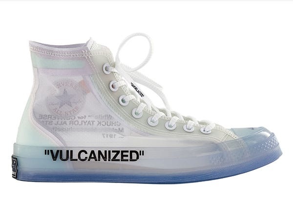 Off White x Converse Chuck Taylor 2018 Chuck Taylor All Star Hi