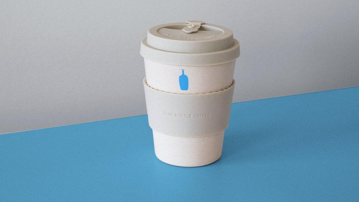 Blue Bottle откажется от одноразовых стаканчиков