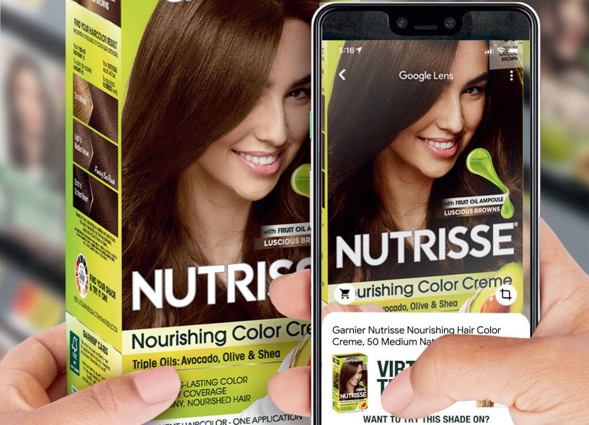L'Oréal и Google Lens