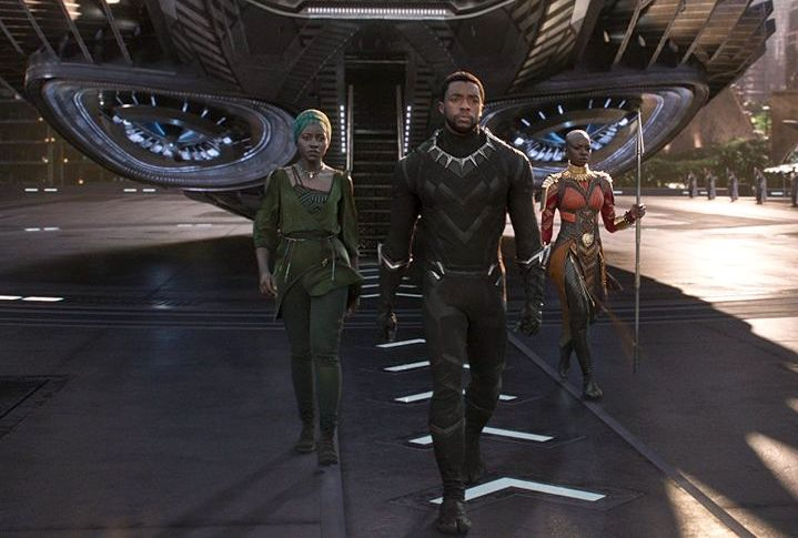 Кадр из фильма Black panther