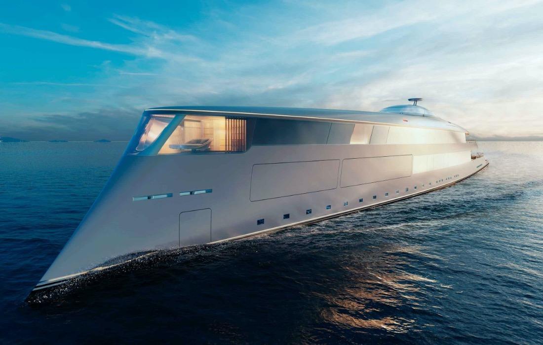 Билл Гейтс станет первым владельцем уникальной яхты на водородном топливе