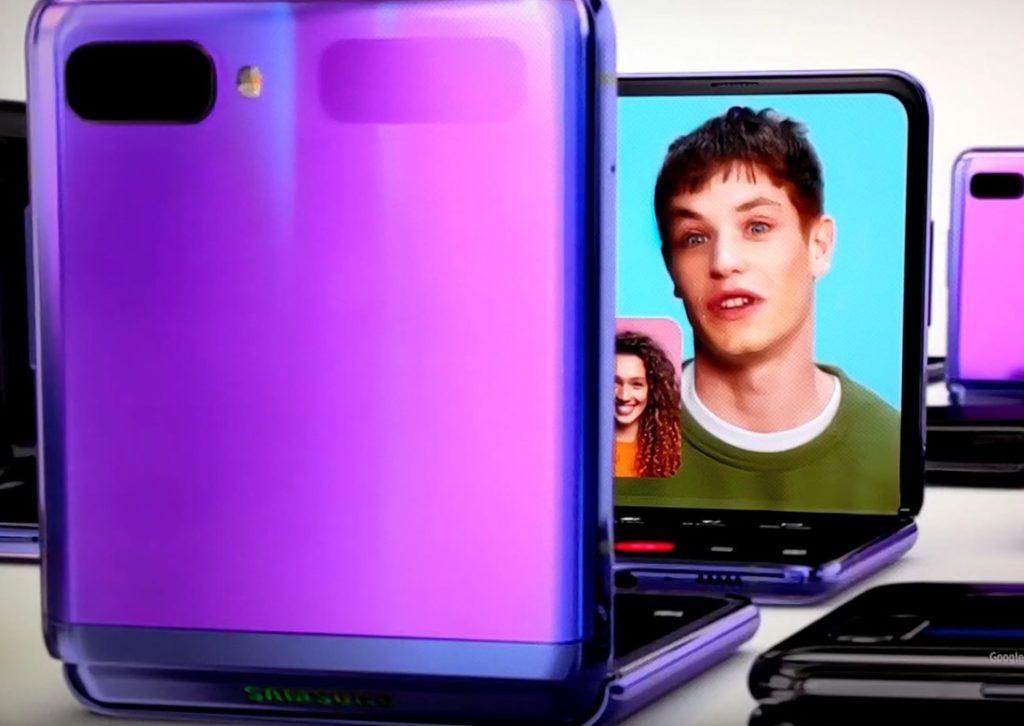 """Samsung представила новый складной смартфон во время """"Оскар 2020"""""""