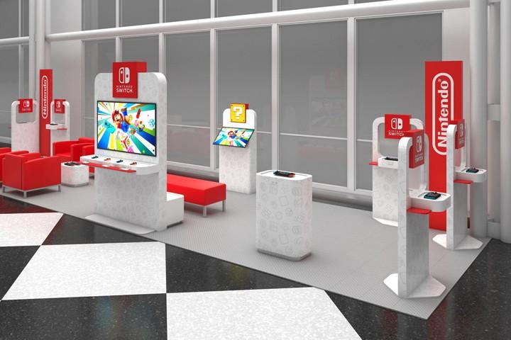 Nintendo откроет салоны видеоигр в аэропортах